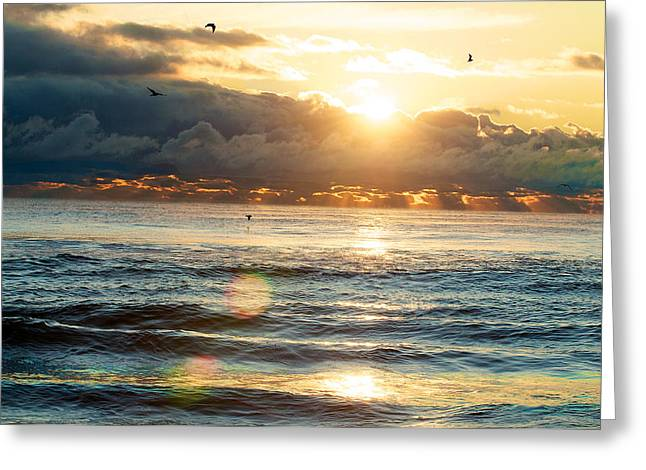 Sunrise After The Storm Greeting Card