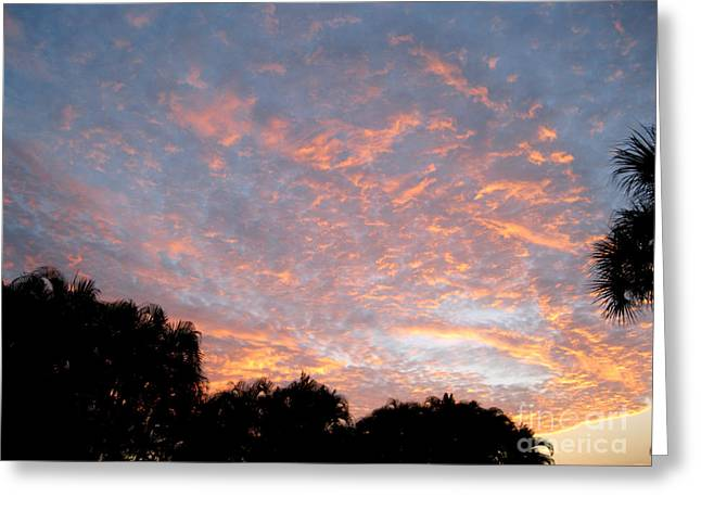 Sunrise. Amazing Sky Greeting Card by Oksana Semenchenko