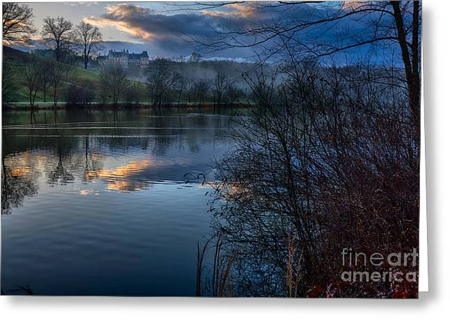 Sunrise At  Biltmore Estate Greeting Card