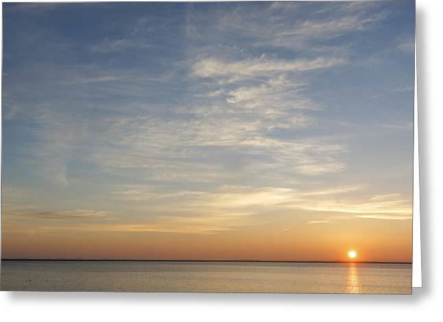 Greeting Card featuring the photograph Sunrise At Cheyenne Bottoms by Rob Graham