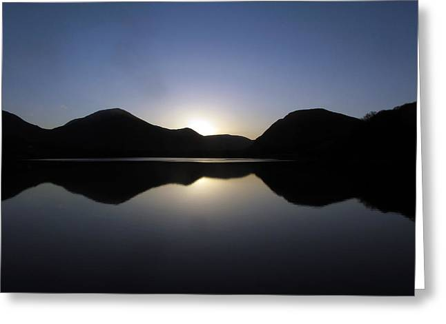 Sunrise At Loweswater Greeting Card by Chris Whittle