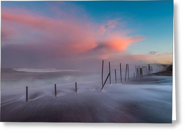 Sunrise At Mackerricher Greeting Card by Mike  Walker