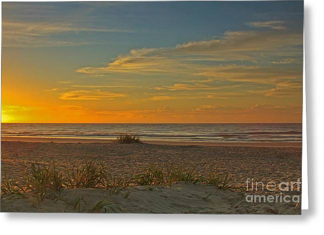 Sunrise At Pawleys Island I Greeting Card