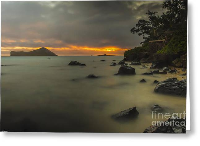 Sunrise At Waimanalo Greeting Card