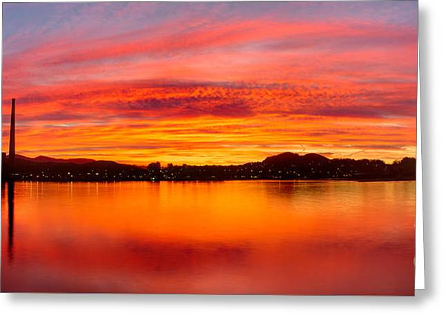 Sunrise Bay Greeting Card