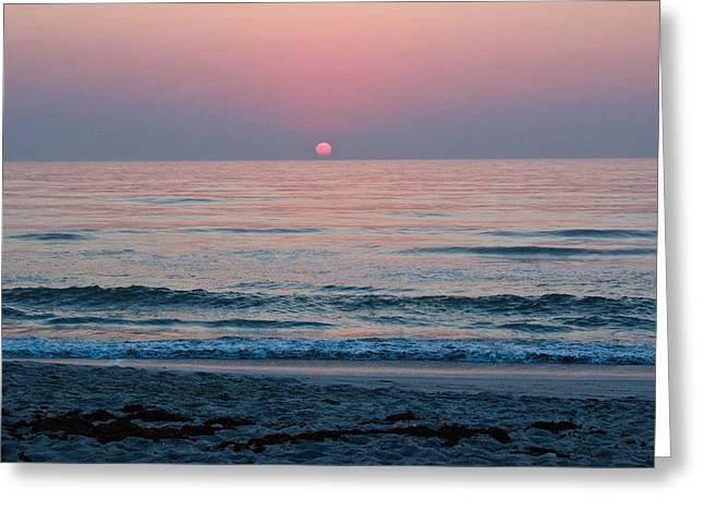 Sunrise Blush Greeting Card