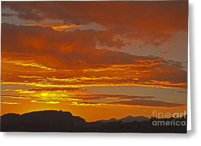 Sunrise Capitol Reef National Park Greeting Card