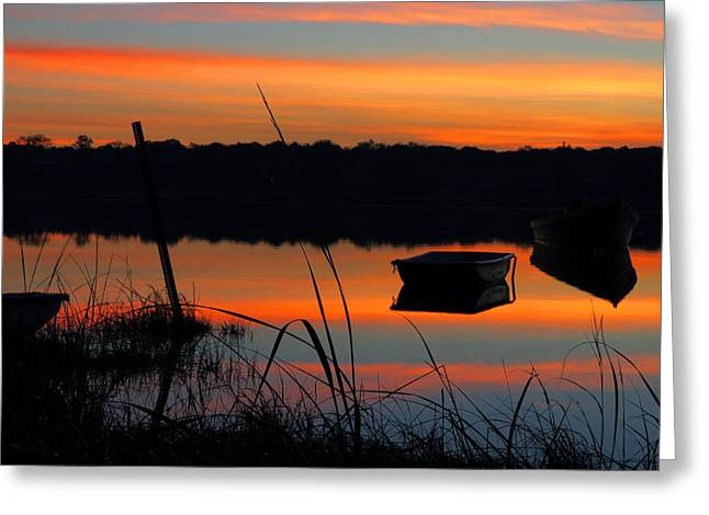 Greeting Card featuring the photograph Sunrise Cove  by Dianne Cowen