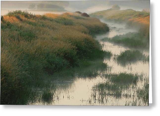 Sunrise Creek Greeting Card