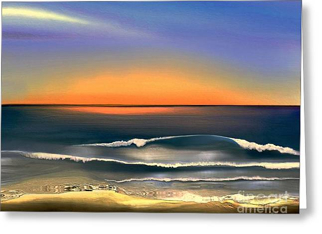 Sunrise Greeting Card by Dale   Ford