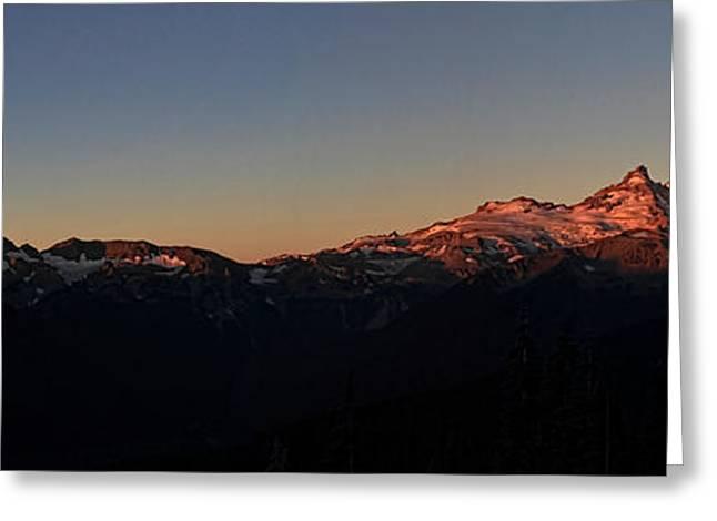 Sunrise Greeting Card by David Stine