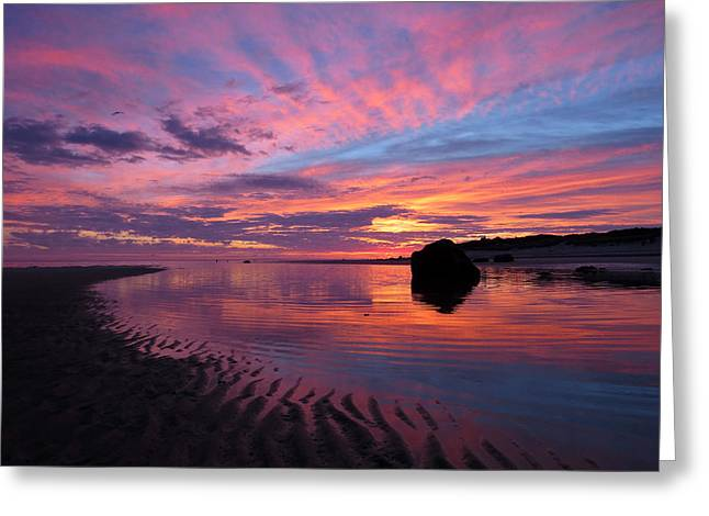 Greeting Card featuring the photograph Sunrise Drama by Dianne Cowen