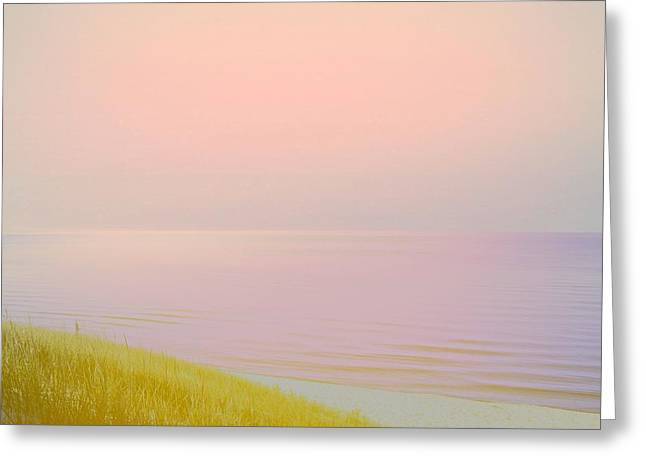 Sunrise Dune Greeting Card by Michelle Calkins