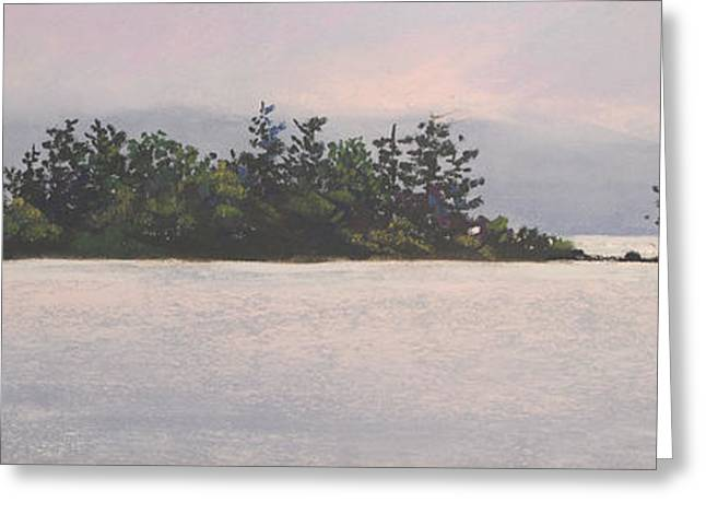 Sunrise From Black Cat Greeting Card by Christine Hodecker-George