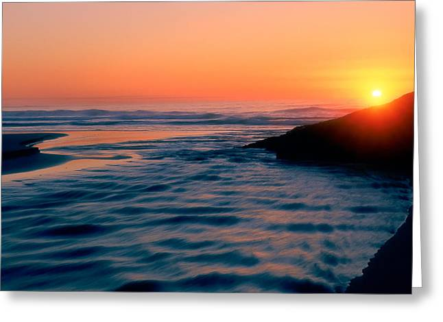 Sunrise Good Harbor Greeting Card