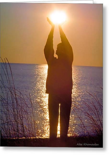 Sunrise - Healing Light Greeting Card