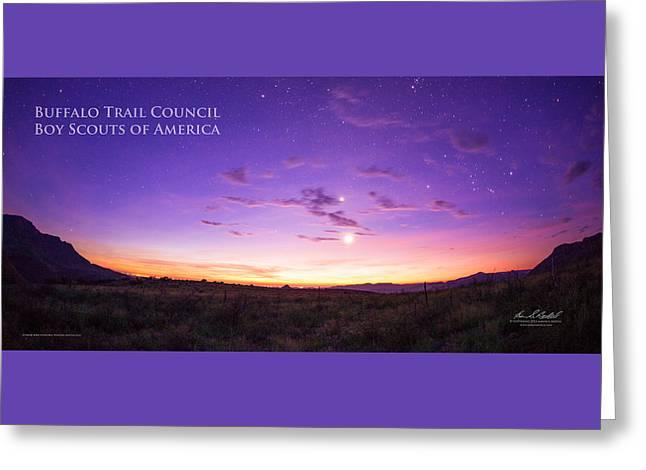 Sunrise Hike Btsr Greeting Card