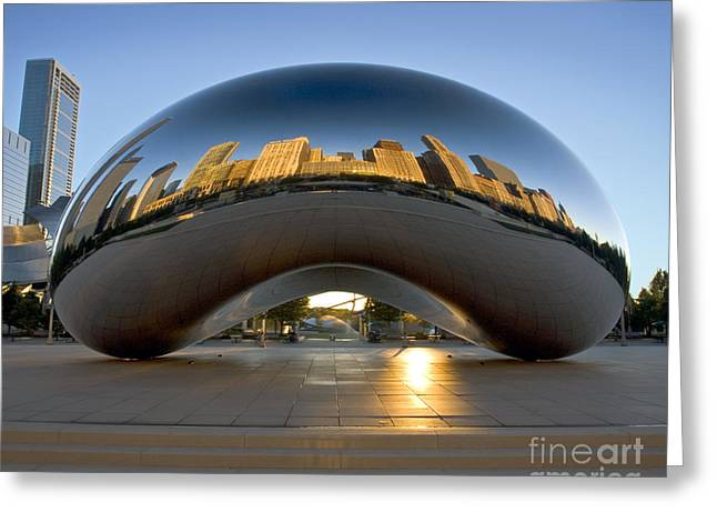 Sunrise In Cloudgate Greeting Card
