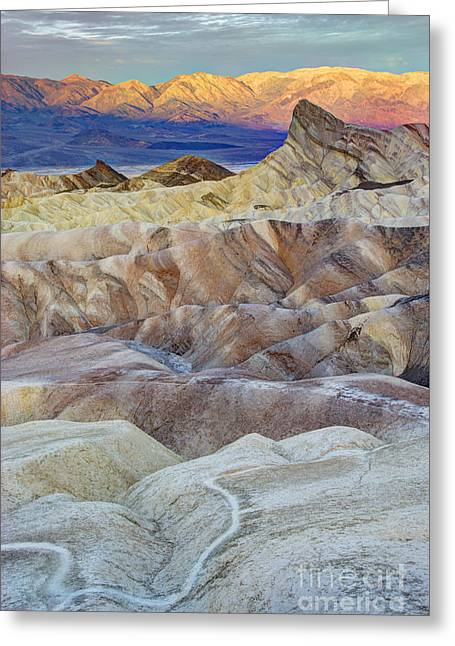 Sunrise In Death Valley Greeting Card