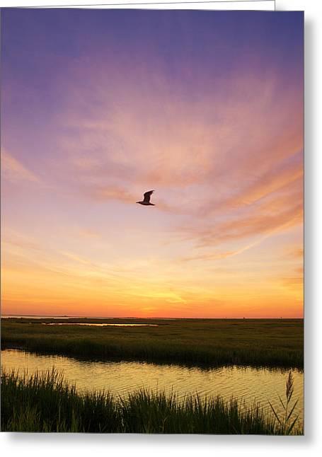 Sunrise In Jersey 5 Greeting Card