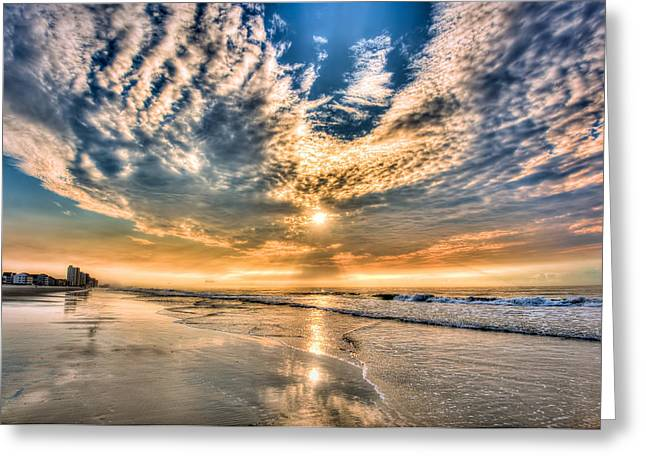 Sunrise In Myrtle Beach Greeting Card by Brent Craft