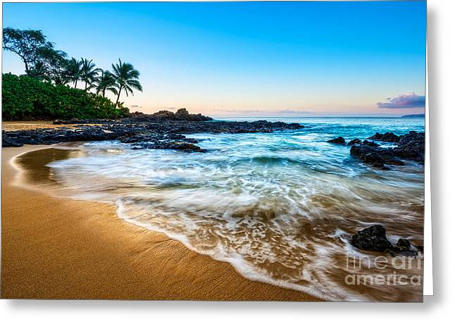 Sunrise In Paradise Greeting Card by Jamie Pham