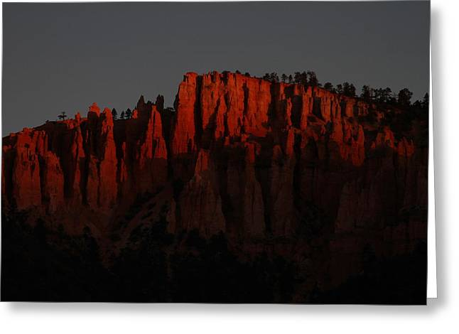 Sunrise In The Desert Greeting Card by Menachem Ganon