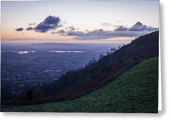 Sunrise In The Severn Valley Greeting Card
