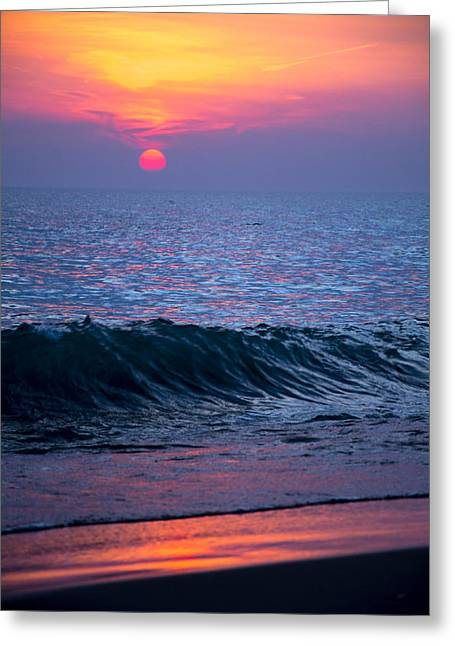 Sunrise Lake Michigan October 5th 001 Greeting Card