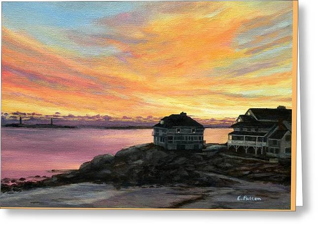 Sunrise Long Beach Rockport Ma Greeting Card