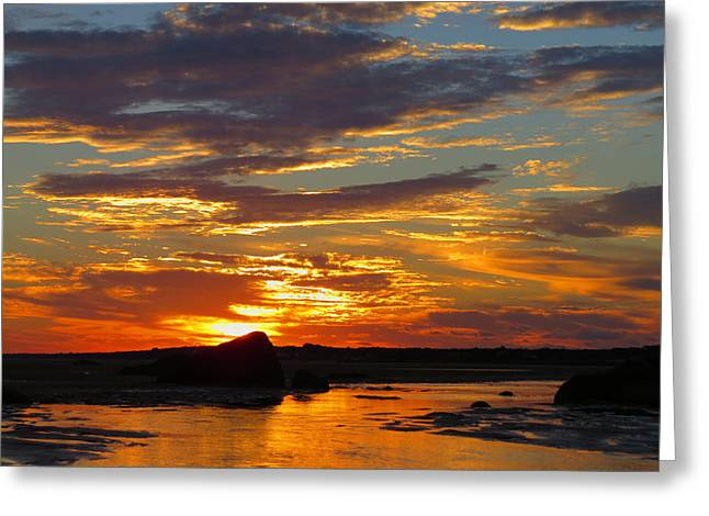 Greeting Card featuring the photograph Sunrise Magic by Dianne Cowen