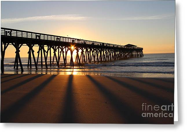 Sunrise Myrtle Beach State Park Greeting Card