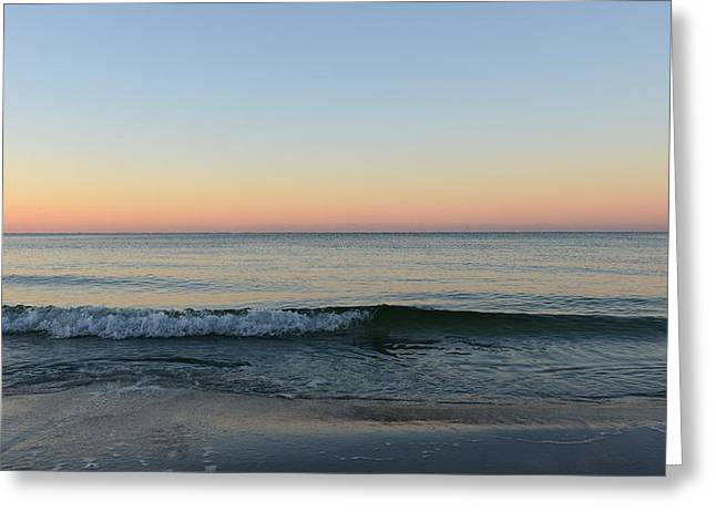 Sunrise On Alys Beach Greeting Card