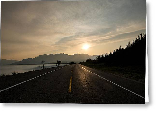 Sunrise On Highway 16 Greeting Card by Cale Best