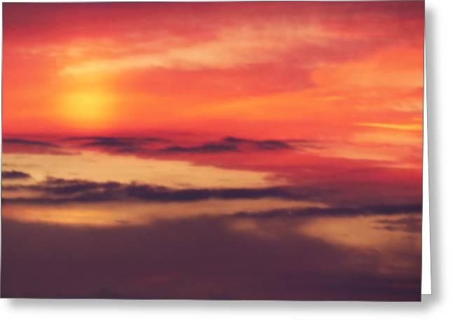 Sunrise On Mars Greeting Card by Condor