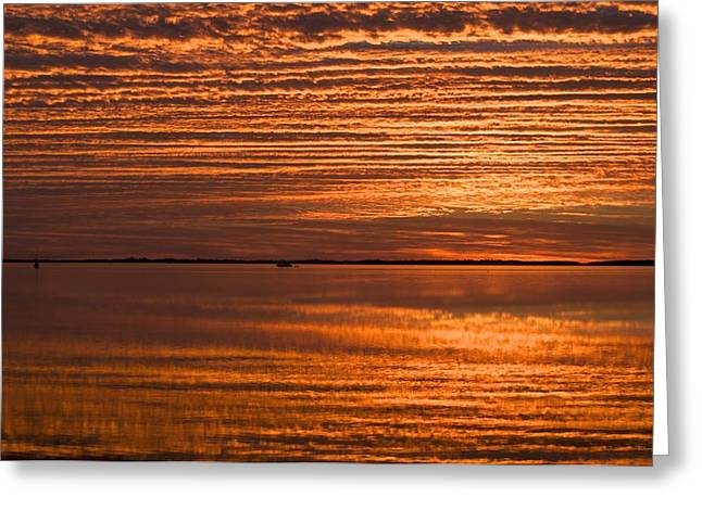 Sunrise On Ramrod Key Greeting Card