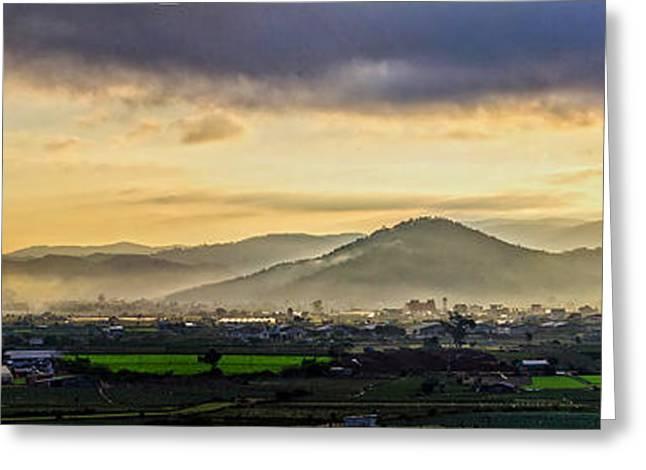 Sunrise On The Mountain Greeting Card