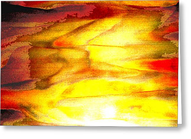 Sunrise On The Steps Of Heaven Greeting Card by Bruce Iorio