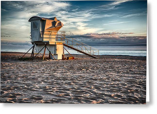 Sunrise On Vero Beach 2 Greeting Card