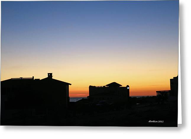 Greeting Card featuring the photograph Sunrise Over Cortez by Dick Botkin