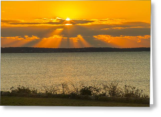Sunrise Over Fairhaven Greeting Card