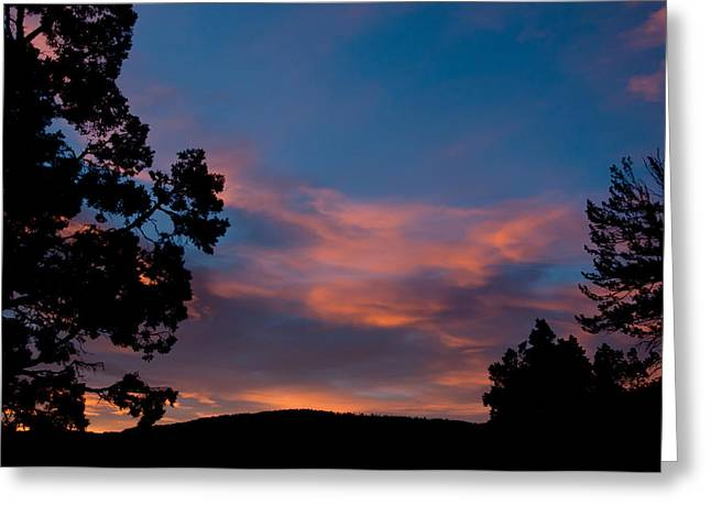 Sunrise Over Mammoth Campground Greeting Card