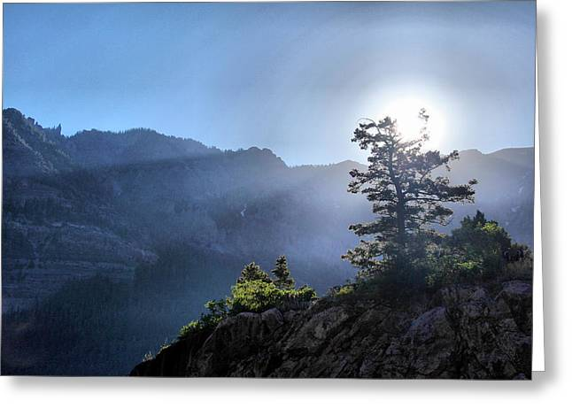 Sunrise Over Ouray Greeting Card