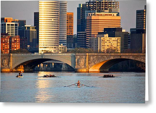 Sunrise Over Rosslyn Greeting Card