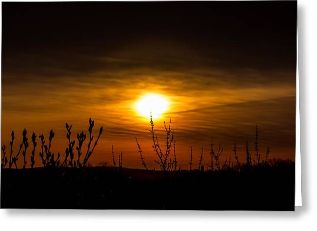 Daybreak At Gettysburg Greeting Card