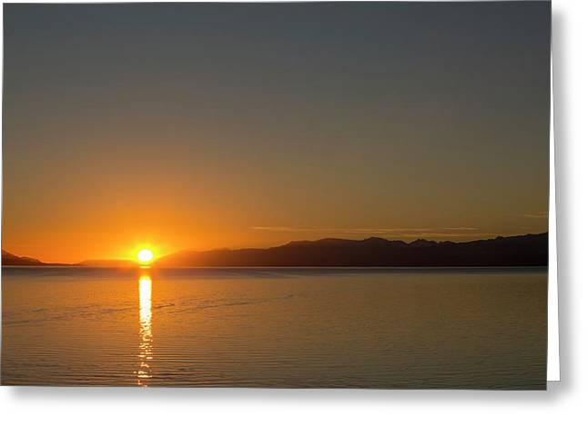 Sunrise Over The Beagle Channel Greeting Card by Ashley Cooper