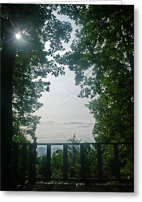Sunrise Portal Greeting Card