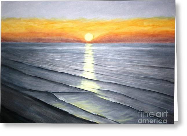 Sunrise Greeting Card by Stacy C Bottoms