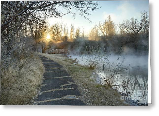 Sunrise Trail Greeting Card