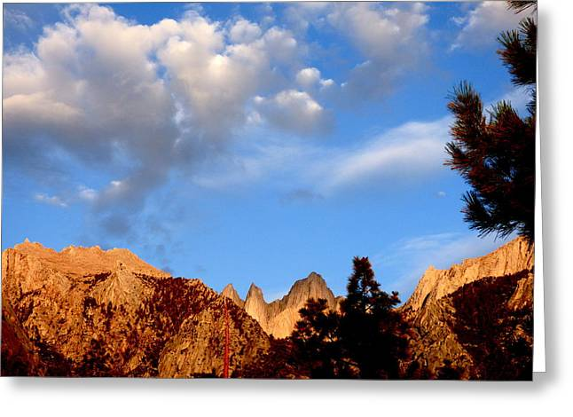 Sunrise Whitney Portal Greeting Card